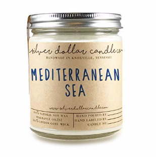 Mediterranean Sea candle