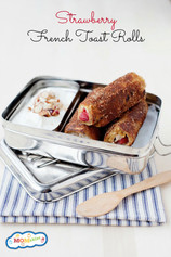 Strawberry French Toast Rollups