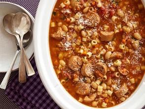 Sausage, Bean & Pasta Stew