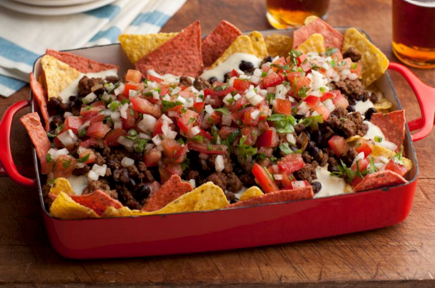 Super Nachos from Rachel Ray on The Pickup Line