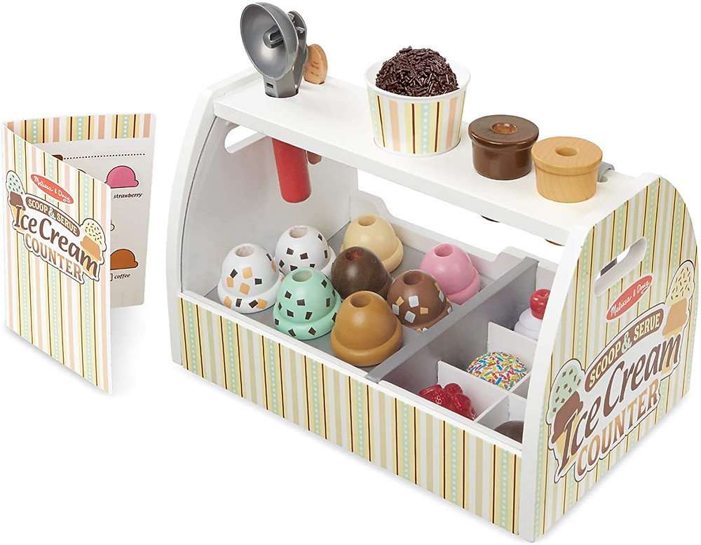 Melissa & Doug Scoop and Serve Ice Cream Parlor