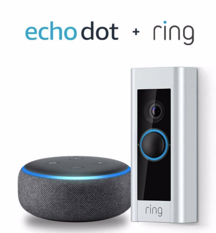 echo dot and ring doorbell