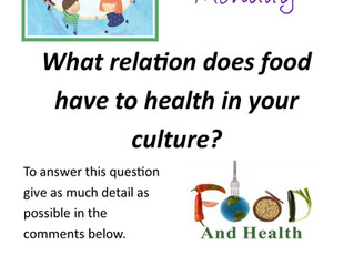 What relation does food have to health in your country?