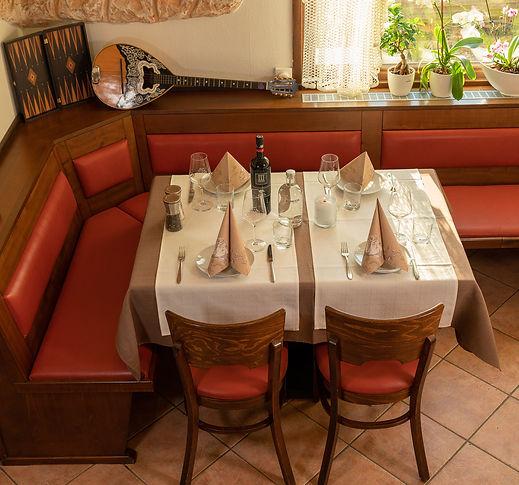 Tisch Waldcafe Dionysos Frankfurt