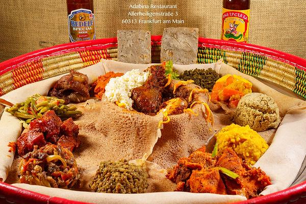 eritreische Spezialitäten im Adabina Restaurant