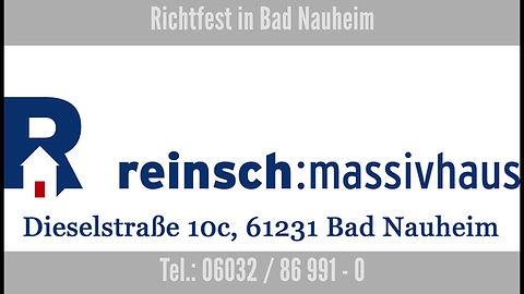 Richtfest in Bad Nauheim