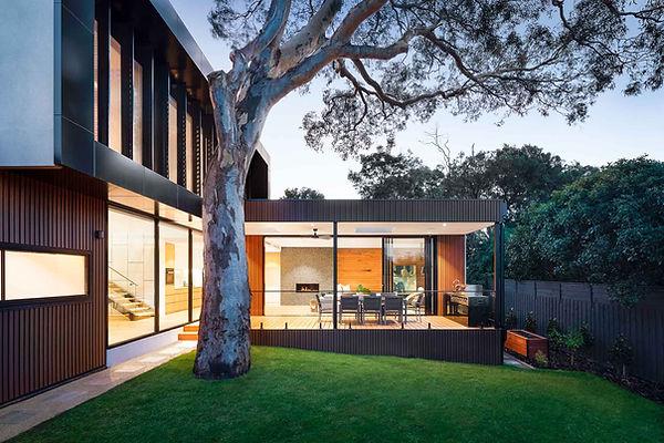modernes Haus mit Baum und Garten.jpg