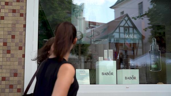 Werbeclip für das Kosmetik Institut Babor Bad Nauheim, produziert von Real Photography