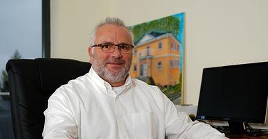 Andreas Hofmann Arbeitsvorbereitung bei der Firma Reinsch Massivhaus GmbH