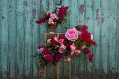Summer Rose Installation