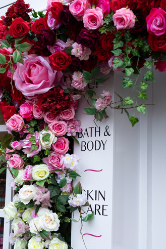 Valentines Installation Rose