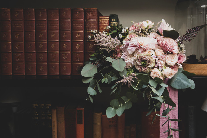 Rose and Eucalptus Bouquet