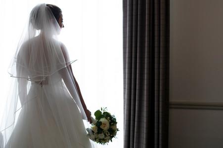 Bride Silloette