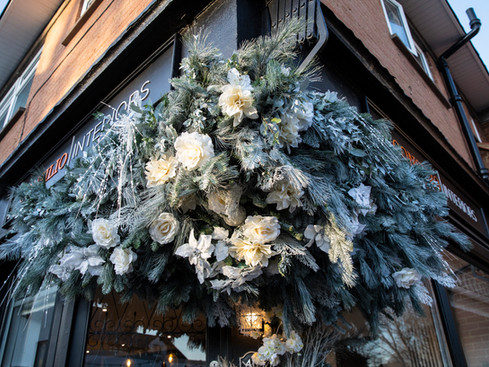 Winter Wonderland Floral Installation
