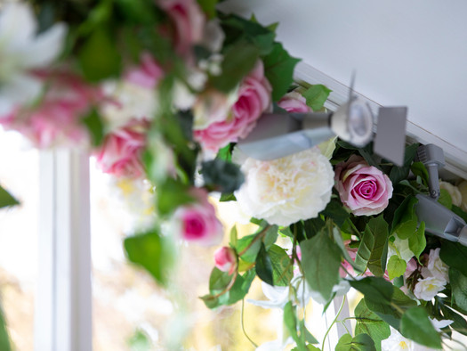 Rose Window Installation