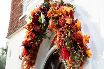 Autumn Floral Installation