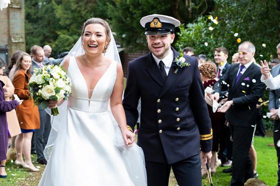 Military Wedding Confetti