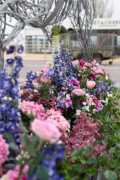 Cheltenham Floral Installation