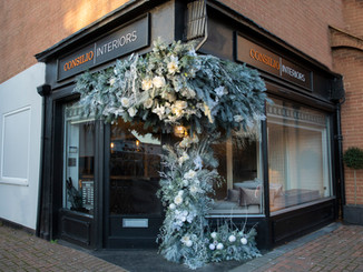 Christmas Floral Installation
