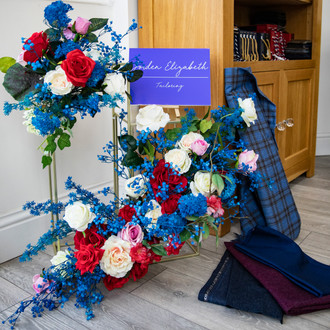 Valentines Floral Installation