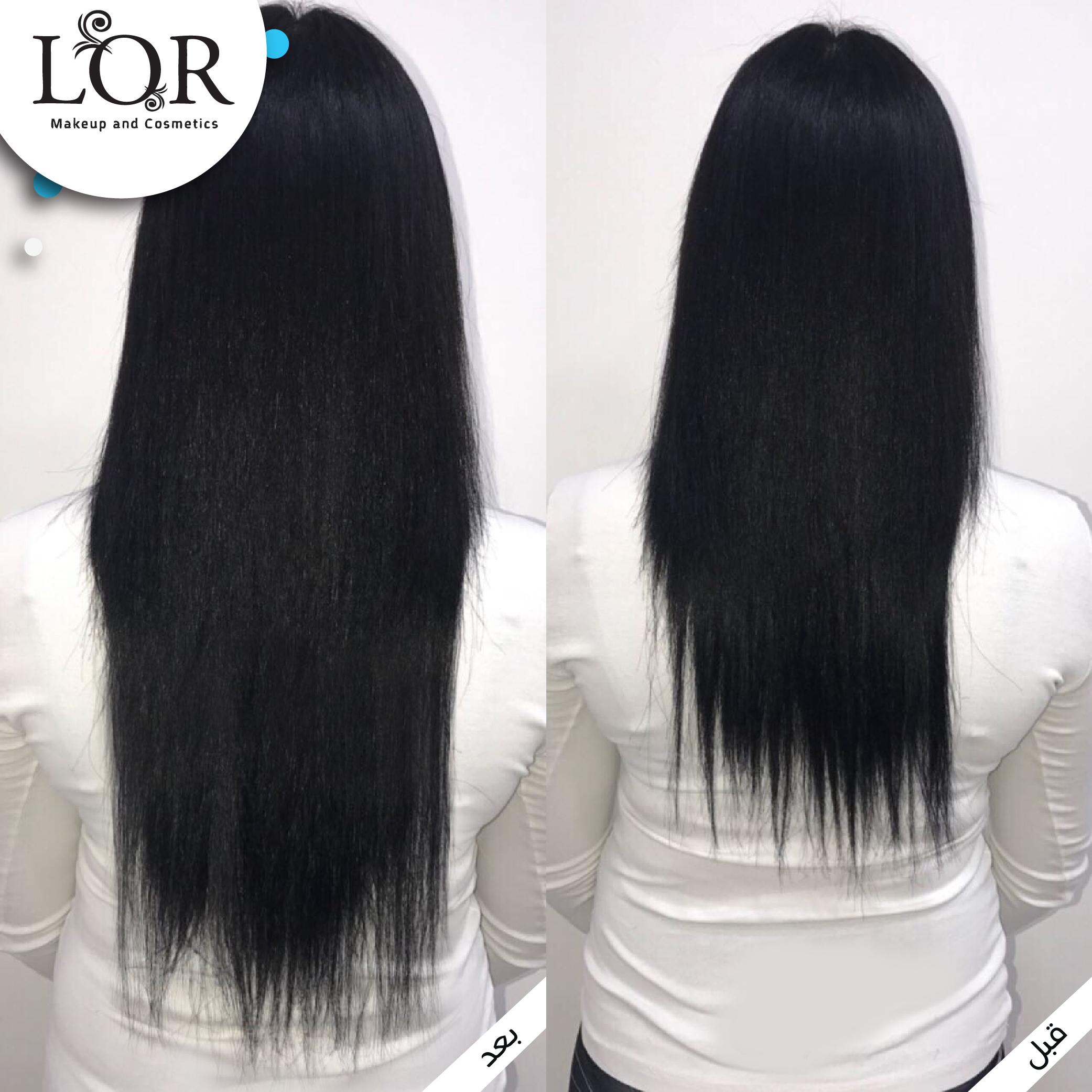 שיקום שיער תמונות לפני ואחרי