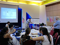 Workshop in Baranquilla, Colombia