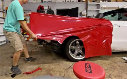 2011 Mustang 3M 2080 Gloss Red Metallic