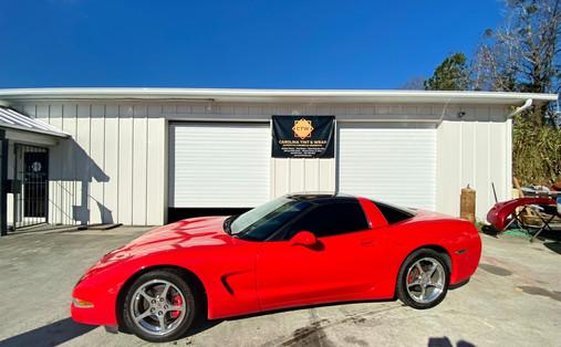 2003 Corvette tinted