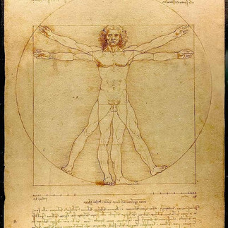『ウィトルウィウス的人体図』