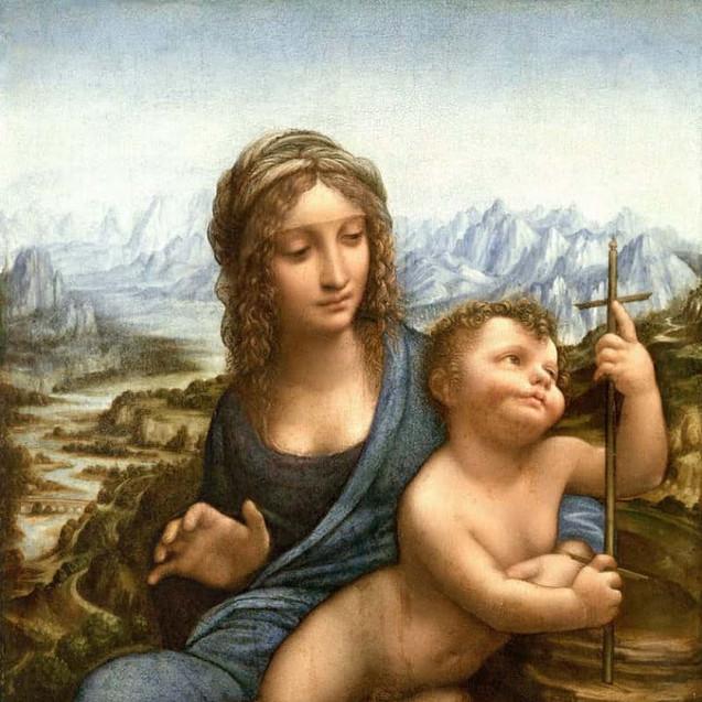 『糸車の聖母』