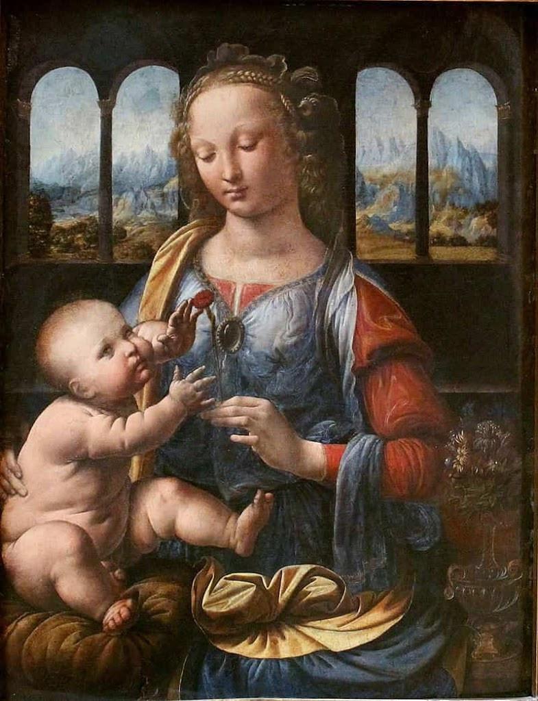『カーネーションの聖母』