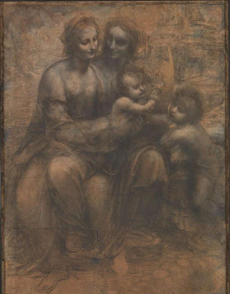 『聖アンナと聖母子と幼児聖ヨハネ』