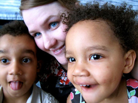 Laura came in 2013 to serve alonside the Okurut family, and to help with the children and community outreach