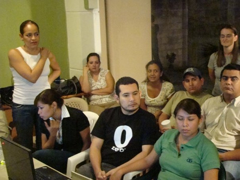 Salvadoran Board members and ministry partners 2009-2011