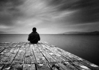 Känsla att leva isolerad