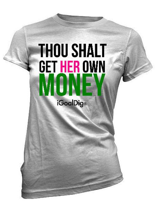 THOU SHALT TEE