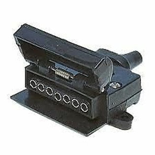 Trailer Plug 7 Pin Flat (Vehicle side)