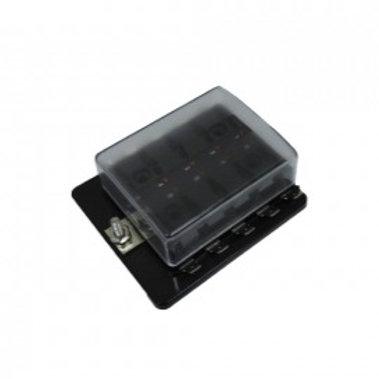 Fuse Box 10x Blade fuse W/LED