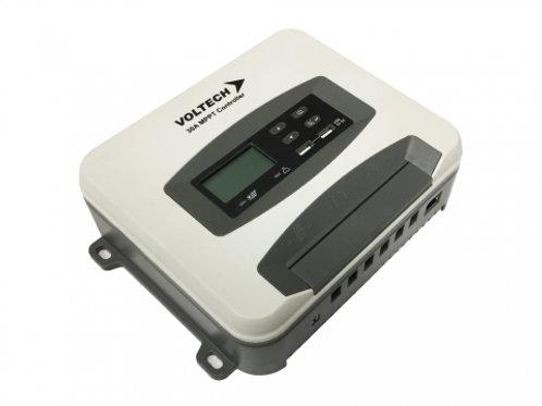 Voltech Solar Controller MPPT 12/24V 30A (App connect & Lithium)