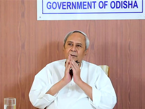 Odisha CM praised by the UN for Disaster Management.