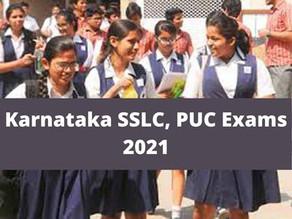 Karnataka cancels the 2nd PUC exams, SSLC 2021 from the 3rd week of July.