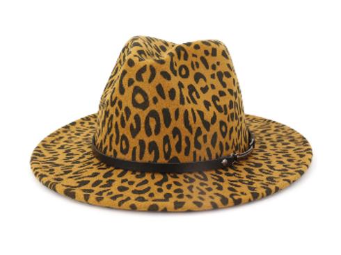 Stylish Leopard Khaki