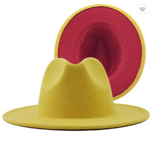 Fedoras: Mustard and Ketchup