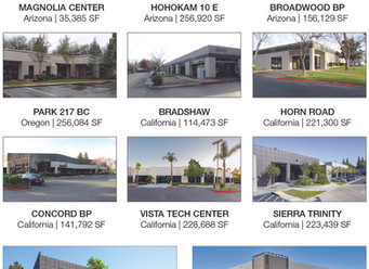 BKM CAPITAL PARTNERS ACQUIRES 11-PROPERTY INDUSTRIAL PORTFOLIO  IN PHOENIX, CALIFORNIA, AND PORTLAND
