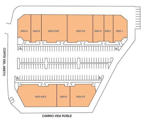242 Del Abeto Commerce Center Site Plan