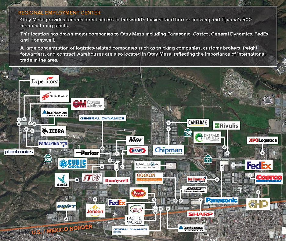 Frontera Business Park Corportate Neighbors