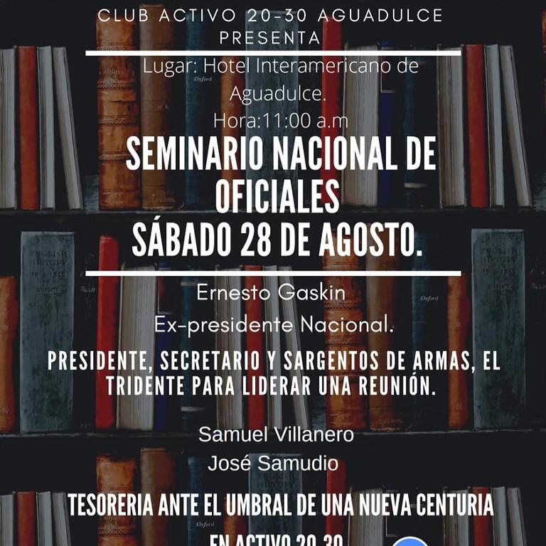 Seminario de Oficiales 2021