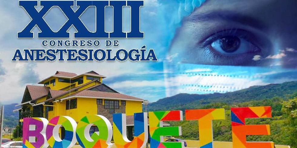 XXIII Congreso de Anestesiología