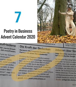 Poetry in Business Advent 2020 - Retreat