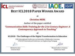 2CG® Methode gewinnt Best Paper Award
